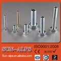 cantidad alta de acero inoxidable y de acero al carbono de baja precio astm a307 perno hexagonal