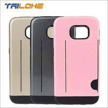 pc tpu mobile phone case for samsung galaxy s6 edge phone case
