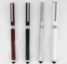 For Ipad tablet touch stylus pen with 2 in 1 capactive stylus ball pen
