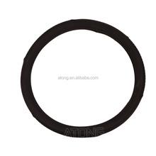 sheepskin leather steering wheel cover/2015 new design