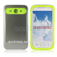 Phone case for Samsung Galaxy Core i8260 i8262 Dual-color back cover