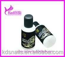 High quality remover liquid gel polish for nail art