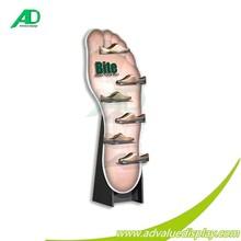 Pop cartón promocional de exhibición del espectador de pie tablero de visualización de diseño