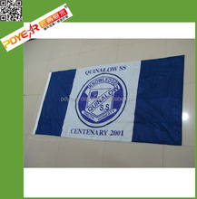 Knitted Fabric Promotional Cheap Outdoor Flags