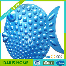 Fish Sharp Non Skid PVC bath mat for Baby, Kids