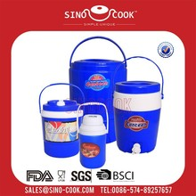 4pcs Fashion Plastic Water Cooler