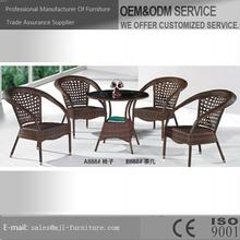 High quality professional pop wrought iron garden furniture's