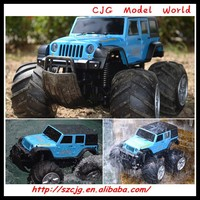 new products amphibious rc car mini 1/16 jeep wrangler for sale