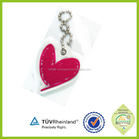 Personalized sweet fashion couple lover heart keychains for sale