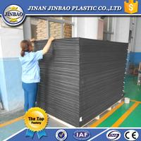 Black pvc panel 0.5mm, 1mm thick foam sheet pvc