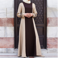 OEM service China factory adults islamic Arab latest new fashion colored plain abaya