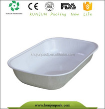Factory supply aluminum foil airline food trays
