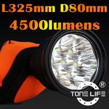 4500 Lumens Led Torch Flashing Light Led Hunting Lamp Hiking/Camping Torch