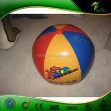 Most Funny Inflatable sprinkler beach ball for beach games