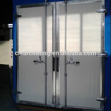 Aluminum/Ceramic/Steel/Wood Substrate and Overseas service center available After-sales Service Provided Paint curing oven