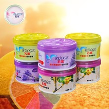 hot sell gel car air freshener osmanthus natural flavor fragrance sticker flavor & fragrance freshener