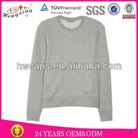 lastest design your own hoodies/plain hoodies for ladies