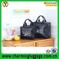 student PU meal prep bag cooler lunch bag