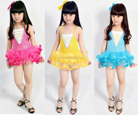 Wholesale cheap beautiful latin dance dress child