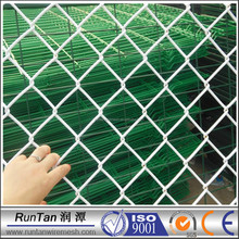 galvanized pvc coated chain link fence cost of chain link fence (ISO9001)