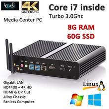 Assembled desktop computer intel core i7 4500U HD-MI port 3D game perfect operation