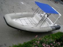 ILIFE RIB 680A best sale fiberglass hull rib boat with console and seat