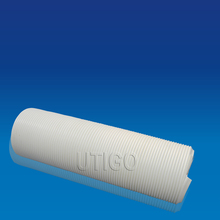Plastic waste water drain pipe with steel wire