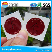 programmable and reusable adhesive paper hf rfid 13.56mhz tag