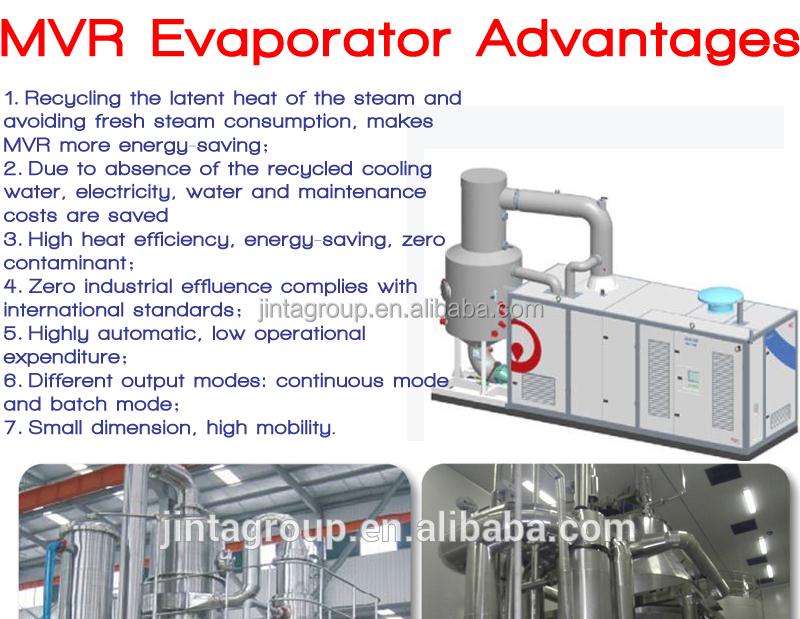 Mechanical Vapor Recompression Evaporator Mvr Vacuum