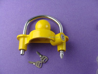 Aluminum die casting small universal trailer coupler lock, Tiny trailer ball connected hitch lock