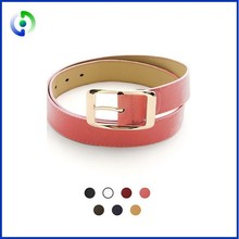 2015 Good quality women leather belt wide belt buckle fashion