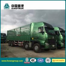 Sinotruck Howo A7 8x4 Van Truck price camiones sinotruk