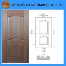 China wooden products of wood veneer door skin internal doors