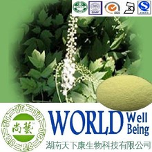 Hot sale Black Cohosh extract/Triterpenes 15%/Cimicifuga racemosa extract/Prevent of Osteoporosis plant extract