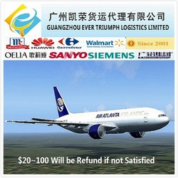 Cheap air logistics from China to USA