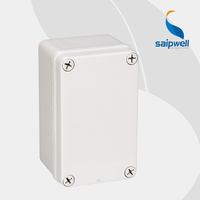 Waterproof IP66 Plastic Electrical Outlet Cover Box Size 80*130*70mm (DS-AG-0813)