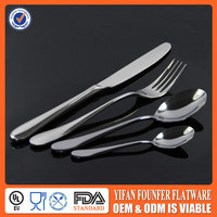 stainless steel flatware with laser engraving logo