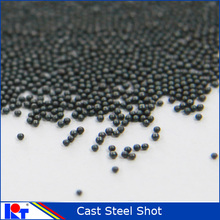 Sand blasting grit steel shot S330 with high quality