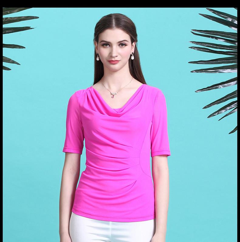 Basic V Neck T Shirts Women S