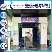 CC-690 Automatic Tunnel Car Washing Machine with 9 Brushes and High Pressure Water on Best Price.
