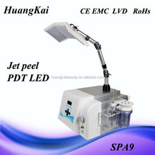 oxygen jet machine for skin deep cleaning&PDT light