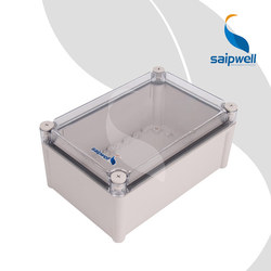 Saip Saipwell DS-AT2819 280*190*130 Transparent Cover Junction Box CE IP66 Clear Plastic Electrical Waterproof Box