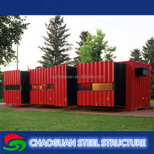 20ft workers camp luxury prefab container house price/china professional export