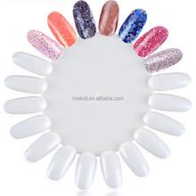 Nail art color wheel for nail art design&practice