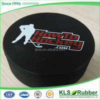 custom logo ice hockey puck