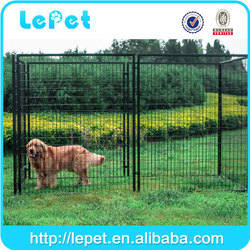 Garden and backyard outdoor welded panel temporary dog runs fence large dog fences