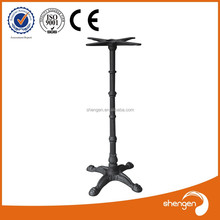 Foshan hardware factory directly supply resturant metal table legs