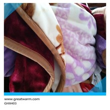 stock polyester fabric super soft solid baby diapers flannel blanket manufacturers china