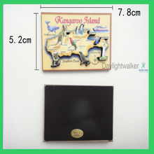 custom china magnet board/ OEM 3D Wood fridge magnet