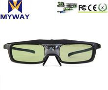 for vivitek dlp 3d glasses,rechargeable dlp 3d glasses 3d glasses for benq projector